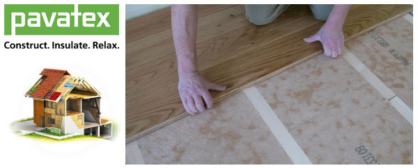 Insulating Floors With Pavatex Wood Fibre Insulation